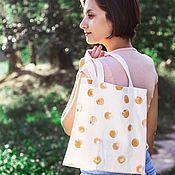 Сумка-шоппер ручной работы. Ярмарка Мастеров - ручная работа ЭКО-сумка. Handmade.