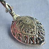 Посуда handmade. Livemaster - original item Silver tea spoon