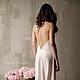 Белье ручной работы. шелковая ночная сорочка. F-12. Apilat wedding dresses and lingerie. Интернет-магазин Ярмарка Мастеров.
