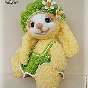 Куклы и игрушки ручной работы. Ярмарка Мастеров - ручная работа Солнечная зайка - вязаная игрушка. Handmade.