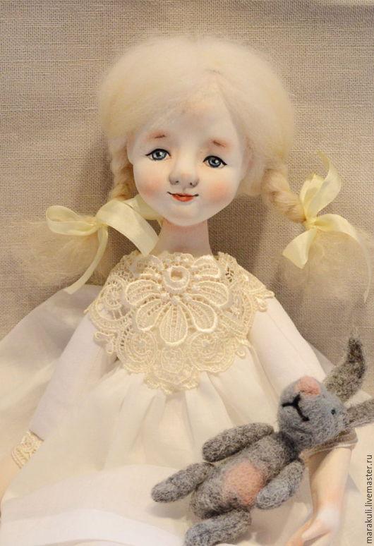 Будуарная кукла для девочки на заказ Авторская ручная работа