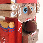 Куклы и игрушки ручной работы. Ярмарка Мастеров - ручная работа Щелкунчик-орехокол деревянный маленький. Handmade.