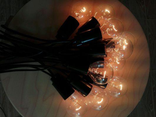 Освещение ручной работы. Ярмарка Мастеров - ручная работа. Купить Ретро гирлянда. Handmade. Ретро, эдисон, винтаж, лофт
