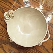 Посуда handmade. Livemaster - original item Tureen of Melted milk. Handmade.