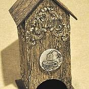 Для дома и интерьера ручной работы. Ярмарка Мастеров - ручная работа Чайный домик в стиле шале. Handmade.