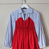 "Одежда ручной работы. Ярмарка Мастеров - ручная работа Платье ""Baby doll"" 40-42 размер (распродажа). Handmade."