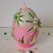 """Свечи ручной работы. Ярмарка Мастеров - ручная работа """" Пасхальное яйцо"""". Handmade."""