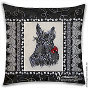 Картины и панно handmade. Livemaster - original item Batik pillow