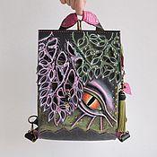 """Рюкзаки ручной работы. Ярмарка Мастеров - ручная работа Рюкзак-сумка  """"Радужный дракон"""". Handmade."""