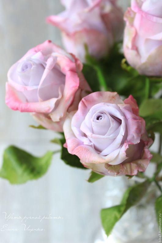 Интерьерные композиции ручной работы. Ярмарка Мастеров - ручная работа. Купить Букет роз из полимерной глины. Керамическая флористика. Handmade.