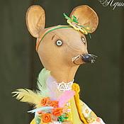 Куклы и игрушки ручной работы. Ярмарка Мастеров - ручная работа Здравствуйте, я ваша Пасха! Праздничная Мышка.. Handmade.