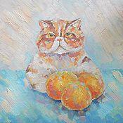 Картины и панно ручной работы. Ярмарка Мастеров - ручная работа Картина. Сказка о трёх апельсинах.. Handmade.