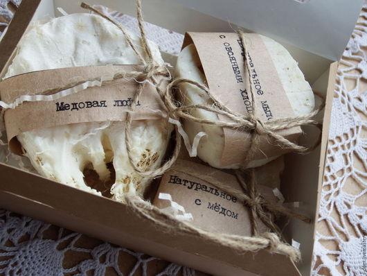 """Подарочные наборы косметики ручной работы. Ярмарка Мастеров - ручная работа. Купить резерв Подарочный набор """"Новогодний"""" №2. Handmade."""