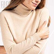 Одежда handmade. Livemaster - original item Jerseys: 100% cashmere turtleneck. Handmade.