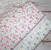 """Ткань хлопок 100% для шитья """"Меленькие цветы"""""""