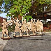 Куклы и игрушки handmade. Livemaster - original item Figures for painting: the heroes. Handmade.