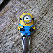 Spoons handmade. Livemaster - original item Teaspoon Minion. Handmade.