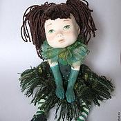 """Куклы и игрушки ручной работы. Ярмарка Мастеров - ручная работа Кукла  Мечталка """"Травяная"""" в частной коллекции. Продана. Handmade."""