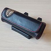 Сумки и аксессуары handmade. Livemaster - original item Glasses case, eyeglass case, leather case, genuine leather case. Handmade.