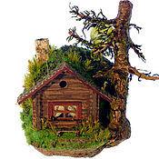 Для дома и интерьера ручной работы. Ярмарка Мастеров - ручная работа Ёжкин дом. Handmade.