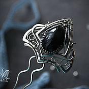 """Украшения ручной работы. Ярмарка Мастеров - ручная работа Серебряная шпилька для волос """"1001 ночь"""". Handmade."""