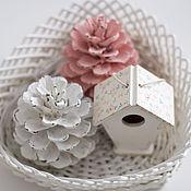 Подарки к праздникам ручной работы. Ярмарка Мастеров - ручная работа скворечник маленький, украшение интерьера. Handmade.