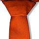 Галстуки, бабочки ручной работы. Заказать Оранжевый галстук Кенни. Креативные галстуки Awesome Ties. Ярмарка Мастеров. Галстук