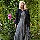 Платья ручной работы. Романтичное платье-рубашка art.104b. MUHA (vintagechic). Ярмарка Мастеров. Бохо, ретро стиль, лён