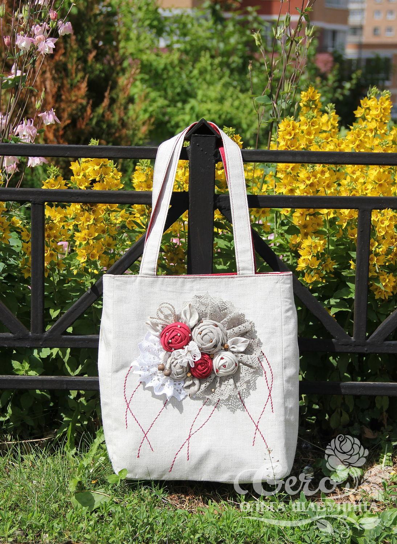 d196823b67e0 Женские сумки ручной работы. Ярмарка Мастеров - ручная работа. Купить  Летняя льняная сумка