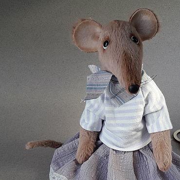 Куклы и игрушки ручной работы. Ярмарка Мастеров - ручная работа Крыска. Handmade.