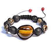 Украшения handmade. Livemaster - original item Shamballa bracelet with natural stones. Handmade.