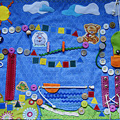 """Куклы и игрушки ручной работы. Ярмарка Мастеров - ручная работа Настольная игра """"Путешествие"""". Handmade."""