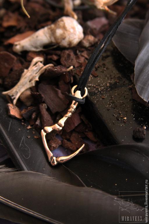 """Кулоны, подвески ручной работы. Ярмарка Мастеров - ручная работа. Купить Подвеска """"Hook"""". Handmade. Золотой, крючок, hook"""