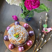 Доски ручной работы. Ярмарка Мастеров - ручная работа Подставка из дуба для яиц и кулича.. Handmade.
