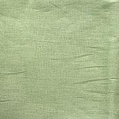Материалы для творчества ручной работы. Ярмарка Мастеров - ручная работа Лён 100%. Светлый серо-зеленый. Handmade.