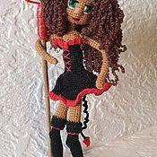 Портретная кукла ручной работы. Ярмарка Мастеров - ручная работа Кукла с трезубцем. Handmade.