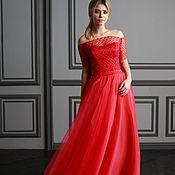 """Одежда ручной работы. Ярмарка Мастеров - ручная работа """"Миреил""""  вечернее платье. Handmade."""