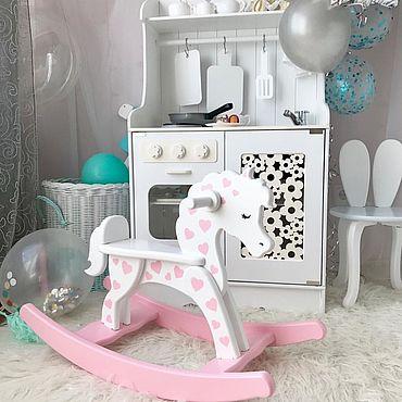 Куклы и игрушки ручной работы. Ярмарка Мастеров - ручная работа Качалка-лошадка. Handmade.