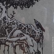 Картины и панно ручной работы. Ярмарка Мастеров - ручная работа Фиговое дерево. Handmade.