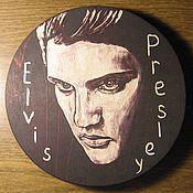 Картины и панно ручной работы. Ярмарка Мастеров - ручная работа Элвис Пресли. Handmade.