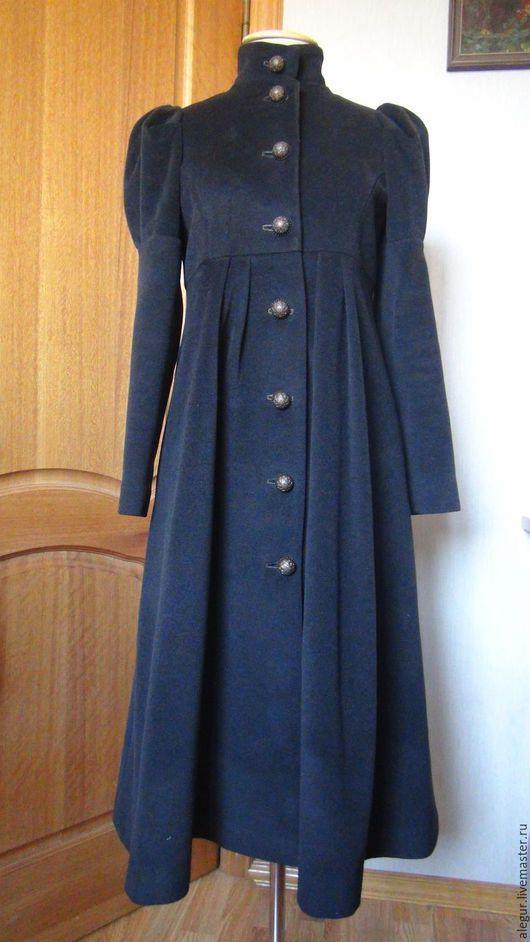 """Верхняя одежда ручной работы. Ярмарка Мастеров - ручная работа. Купить Пальто """"Ампир"""". Handmade. Пальто, вискозный жаккард"""