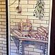 Декор поверхностей ручной работы. Ярмарка Мастеров - ручная работа. Купить Роспись двери в баню:). Handmade. Разноцветный, ьанная дверь