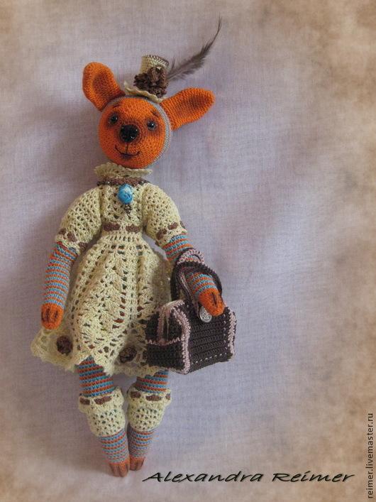 Игрушки животные, ручной работы. Ярмарка Мастеров - ручная работа. Купить Зайчиха Эвелина. Handmade. Заяц, коллекционные игрушки