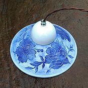 Для дома и интерьера handmade. Livemaster - original item Lamp porcelain