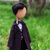 Куклы и игрушки ручной работы. Ярмарка Мастеров - ручная работа Одиннадцатый Доктор - кукла по мотивам сериала Доктор Кто. Handmade.