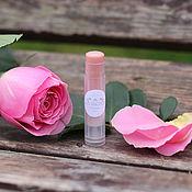 """Косметика ручной работы. Ярмарка Мастеров - ручная работа Увлажняющий бальзам для губ """"Нежный розовый"""". Handmade."""