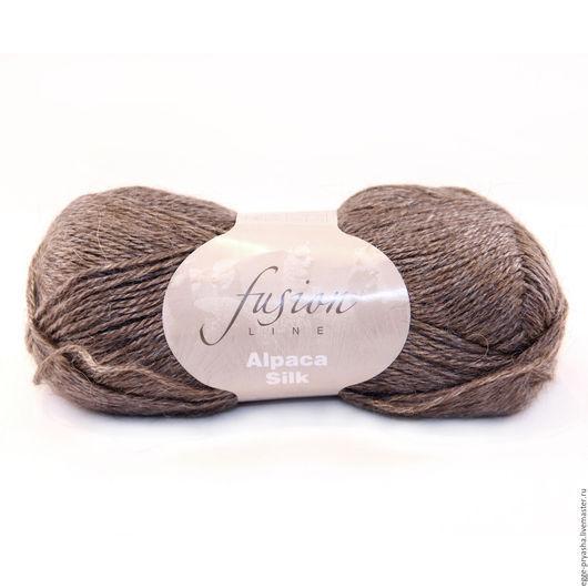 Пряжа для ручного вязания Michell Alpaca Silk Цвет 0286 пряжа, пряжа для вязания, пряжа для ручного вязания, пряжа в мотках, пряжа альпака, пряжа шелк, шерстяная пряжа,