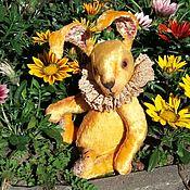 Куклы и игрушки handmade. Livemaster - original item Rabbit Teddy