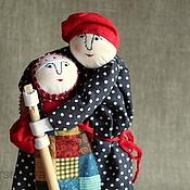 Куклы и игрушки ручной работы. Ярмарка Мастеров - ручная работа Баба сеяла горох!. Handmade.