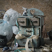 Для дома и интерьера handmade. Livemaster - original item Mini dresser Favorite. Decoupage. Handmade.